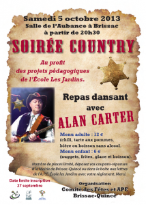 Soirée country 2013