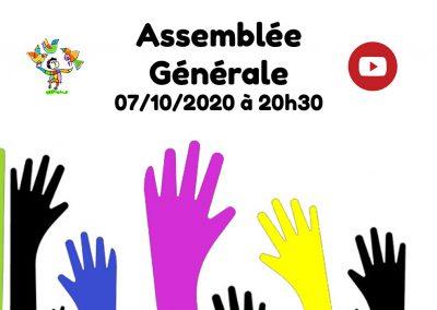 Assemblée Générale 2020… virtuelle !